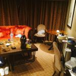 The Chelsea suite's Living room