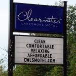 Clearwater Lakeshore Motelの写真