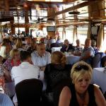 40th birthday celebration on the mills barge