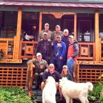 The Ausable Guides Fishing Club enjoy another great year at the Paradox Lodge with Nan and Red.
