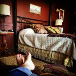 Ultimate relaxation in the Chief Joseph Suite
