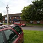Front of Hotel from car park