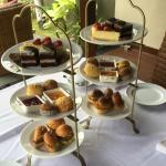 High Tea in our Villa