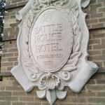Battle House Hotel plaque