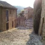 The nearby village of Biot
