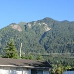 View from the motel grounds
