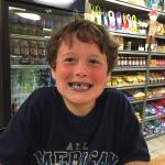 My grandson had the Superman ice cream. Turned his mouth blue and made him very happy! Coffee wi