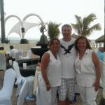 White night-luckily we had white clothes!