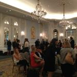 The main room for our conference