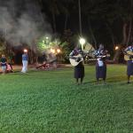 Lovo and firewalking ceremony held at the Westin resort. $99 fijian dollars per person.
