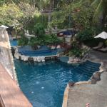 View of the pool from our room :)