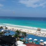 From our balcony at Hard Rock Hotel in Cancun.