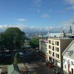 Quebec city from Hotel Clarendon