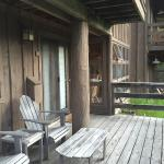 Our cabin exterior
