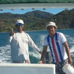 Our boat captains, Byron and Norman