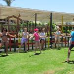 Belly-dance class by the sea