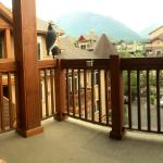 On our balcony!