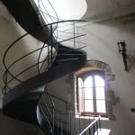 Staircase to roof