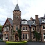 The front of the Torridon Hotel