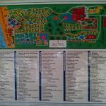 Map of Bavaro Princess Resort