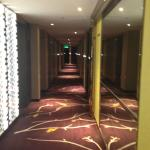 Hallway Leading to Guest Rooms