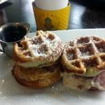 Cafe slider waffles