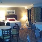 My suite, should have taken in the daytime but we got there so late