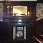 Listed fire place. Put in, in 1905