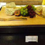 Finnish Cheeses & fresh fruits