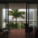View of the verandah and view from the lounge room