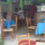 inside and outside seating