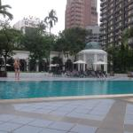 The swimming pool area is enticing and very restful. Fell asleep there every afternoon.