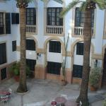 Born Courtyard, view from our room