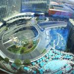 Vdara from above
