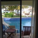 View out of the patio door