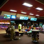 Bowling alley and sports bar