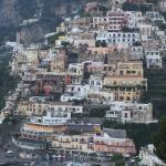 Positano from our balcony.  It was even better at night!