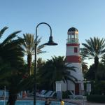 Lighthouse at the main pool.