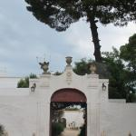 Entrance to the masseria