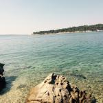 Just 5 minutes walk from hotel Istra to a beautiful beach �� sooo nice