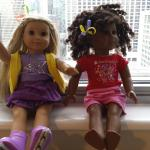 Our girls dolls enjoyed the view as well.