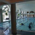 Indoor saltwater heated pool