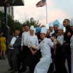 Fantastic and motivated catering team of Rixos President Astana.  Here at the 29th independence