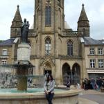 The Fountain & church outside the hotel - Grosse Markt