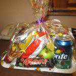 Snack basket we received with zoo package