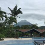 View of Pool Bar with Arenal