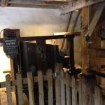 The working water mill Dunster