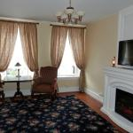 Legacy Grand Suite  with electric fireplace and flatscreen TV