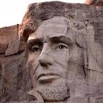 Lincoln at Mount Rushmore