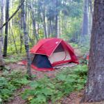 Glacier National Park Campgrounds照片